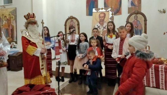 Свято Миколая у Гошеві