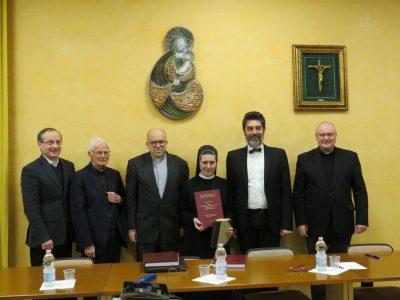 Захист докторської дисертації с. Атанасією Сметаняк